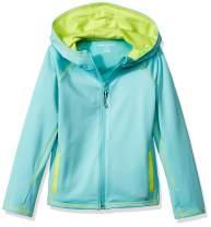 Amazon Essentials Girls' Full-Zip Active Jacket