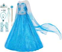 FUNNA Costume for Girls Princess Dress Up Costume Cosplay Fancy Party
