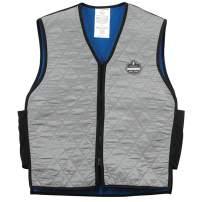 Ergodyne Chill-Its 6665 Evaporative Cooling Vest- Gray, XXX-Large