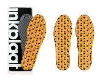 Inkblaat Odor Fighting Insoles – 24 Designs - Quirky, Fashion, Eco-Friendly Shoe Inserts – Medium - Grand Master Funk