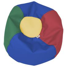 """ECR4Kids Toddler Classic Bean Bag Chair for Children and Kids, Assorted (22"""")"""