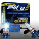 GENSSI Elite LED Headlight Bulbs Kit 6000K Super White Conversion Fits H11 H9 H16