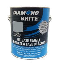 Diamond Brite Paint 31200 1-Gallon Oil Base All Purpose Enamel Paint   Silver Grey