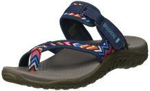 Skechers Women's Reggae - Zig Swag Flip-Flop Sandals