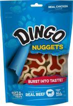 Dingo Mega Meat Chewy Bones, Beefy Flavor, 6-Ounce (P-80041)