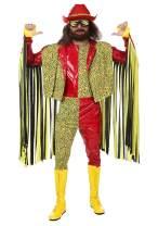 Randy Savage Macho Man Costume Adult WWE Costume Officially Licensed Randy Savage Costume