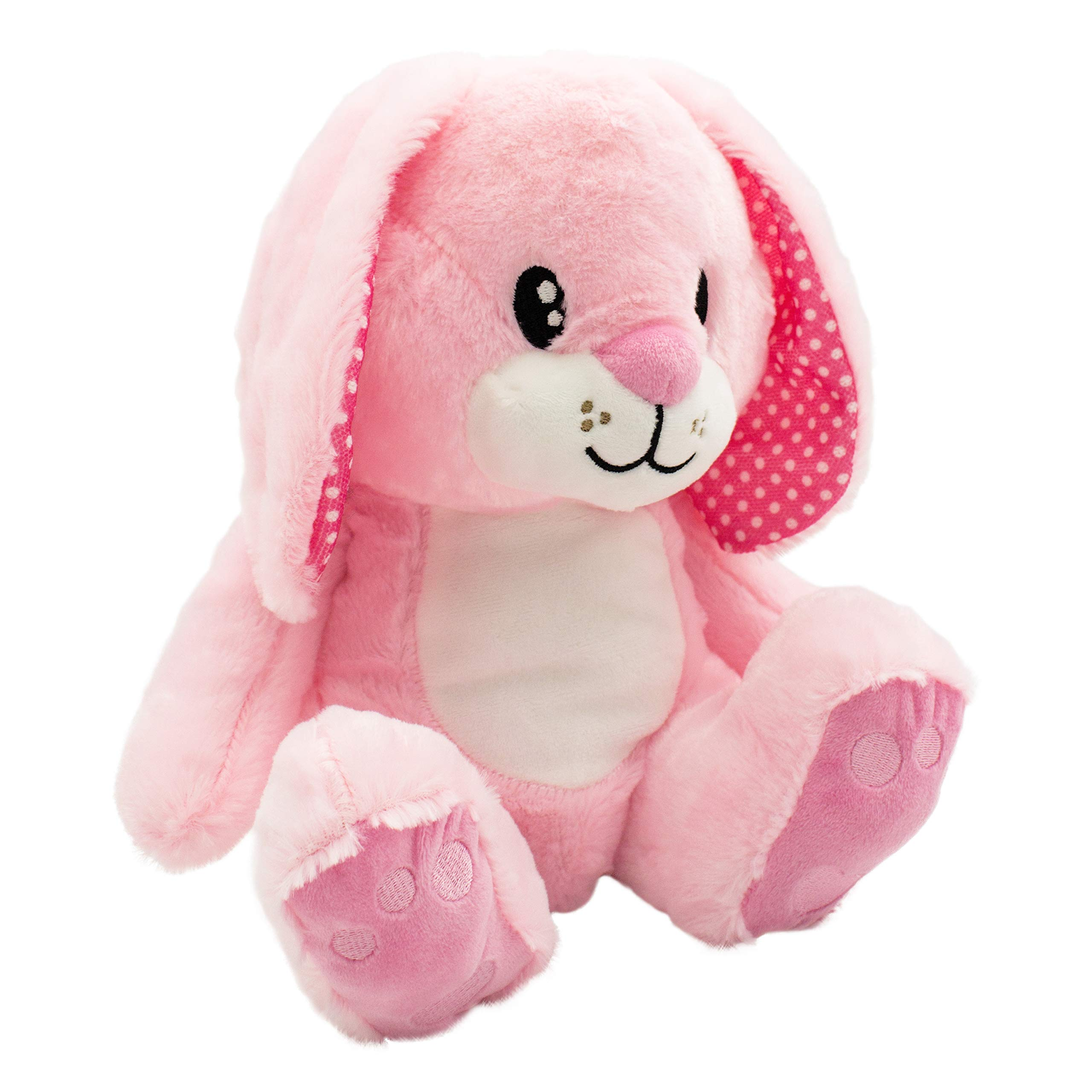 """Scentco Sunny Spring Bunny - Scented Stuffed Animal Gift, 10"""" (Strawberry)"""