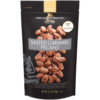 SQUIRREL BRAND Artisan Nuts Salted Caramel Pecans, 3.5 oz (Pack of 6)