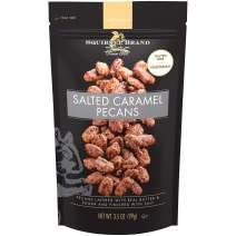 SQUIRREL BRAND Artisan Nuts Salted Caramel Pecans, 3.5 oz (Pack of 6)