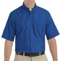 Red Kap Men's RK Poplin Dress Shirt