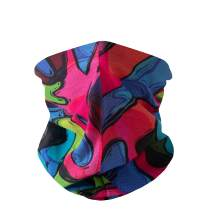 Spicy Sandia Seamless Neck Gaiter Face Mask UV Protection Bandanas Scarf Mouth Protector Cover for Women and Men