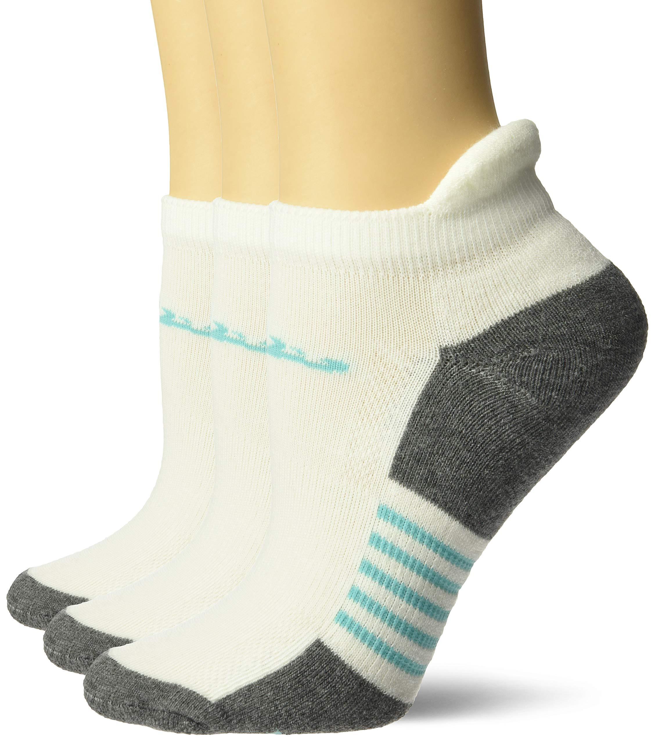 Drake Women's Elimishield Ultra-Dri Low Cut Tab Sport Socks 3 Pair Pack