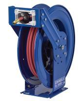 "Coxreels TSH-N-635 Supreme Duty Spring Rewind Hose Reel for air/Water: 1"" I.D, 35' Hose, 300 PSI"