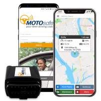 GPS Tracker for Vehicles - MOTOsafety Car Tracker OBD, Vehicle Tracking Device and Monitoring System with Real-Time Reports, 4G with Phone App