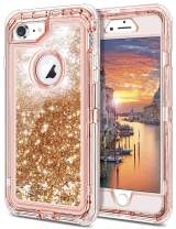 JAKPAK Case for iPhone 11 Case for Girls Women Glitter Sparkle iPhone 11 Case Heavy Duty Shockproof Protective Shell with Dual Layer Hard PC Bumper TPU Back Cover for iPhone 11 6.1 inches Brown
