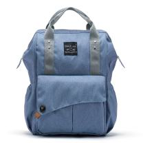 SoHo NoLita Diaper Bag Backback 3Pc - Blue