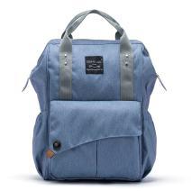SoHo NoLita Diaper Bag Backback 3Pc - Blue