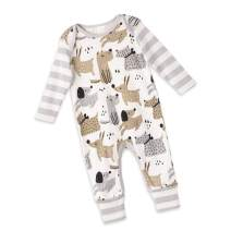 Tesa Babe Baby Boy Romper Gift Set for Newborn to Toddler Boys with Animal, Bear, Airplane, Cars Prints