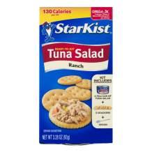 StarKist Ready-to-Eat Tuna Salad Kit, Ranch - (Pack of 12)