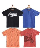 chopper club Boys T-Shirt - Pack of 4