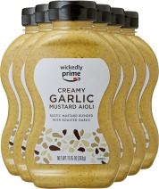 Wickedly Prime Mustard, Garlic Aioli, 11.75 Ounce (Pack of 6)
