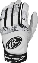 Rawlings Digi Camo 5150 Series Adult Batting Gloves, Black, Medium