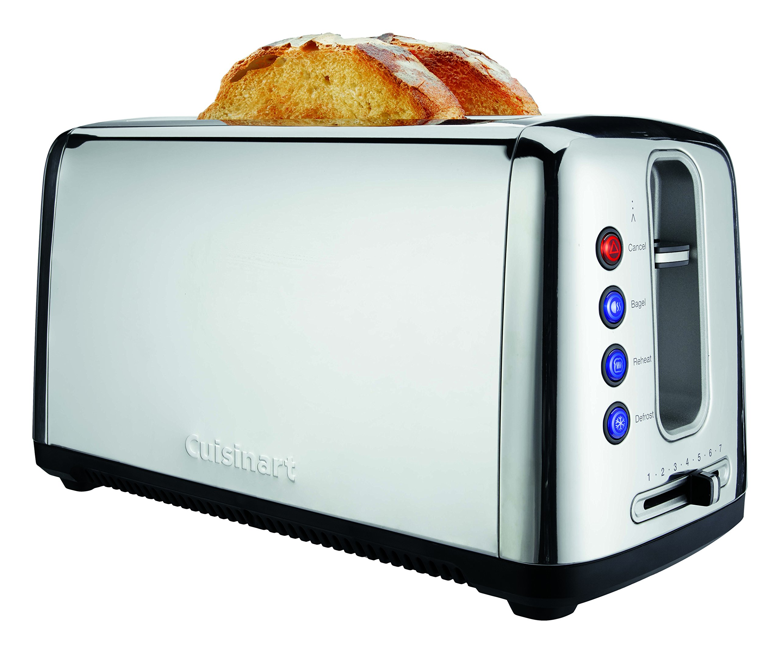 Cuisinart Bakery Artisan Bread Toaster, 2 Slice, Silver