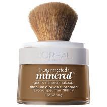 L'Oréal Paris True Match Loose Powder Mineral Foundation, Soft Sable, 0.35 oz.