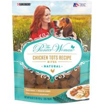 The Pioneer Woman Made in USA Facilities, Grain Free, Natural Dog Treats, Chicken Tots Recipe Bites - 16 Oz. Pouch