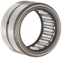 "Koyo HJTT-364828 Needle Roller Bearing, Heavy Duty, Open End, Double Sealed, Oil Hole, Steel Cage, Inch, 2-1/4"" ID, 3"" OD, 1-3/4"" Width"