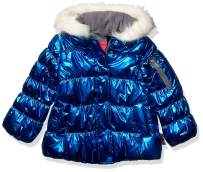 LONDON FOG Girls' Little Shine Puffer Jacket
