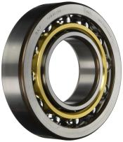 SKF 7311 BECBM Medium Series Angular Contact Bearing, ABEC 1 Precision, 40° Contact Angle, Open, Brass Cage, Normal Clearance, 55mm Bore, 120mm OD, 29mm Width, 13500lbf Static Load Capacity, 19200lbf Dynamic Load Capacity