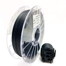 SpiderMaker 3D Premium Matte PLA Filament (PLA+) - Matte Finish with Incredible Vibrant Colors - 2.85 mm PLA, 700g (Coal Black 2.85mm)