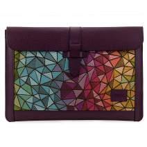 Londo Genuine Leather Sleeve Bag for MacBook Pro & Air - 13 Inch, Purple