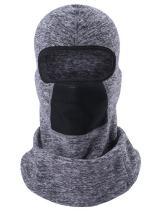 ChinFun Balaclave Fleece Windproof Ski Mask Face Mask Tactical Hood Neck Warmer