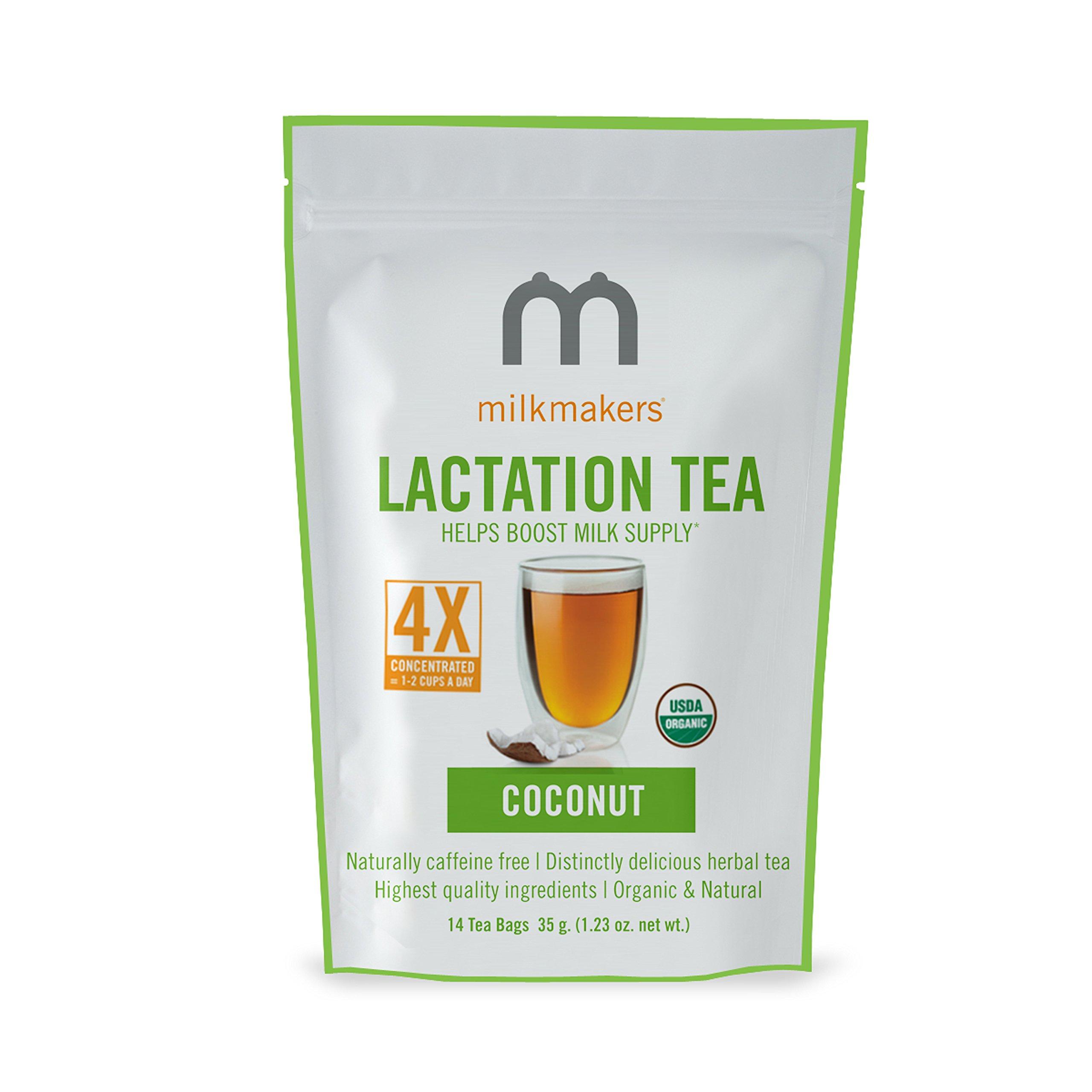 Milkmakers Lactation Tea, Coconut, 14 Count