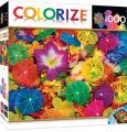 MasterPieces Colorize Aloha! - Drink Umbrellas 1000 Piece Jigsaw Puzzle