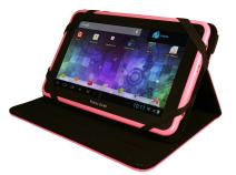 """Visual Land Prestige 7L-TC - 7"""" Android Tablet with 8GB Memory and Bonus Tablet Case (Pink)"""
