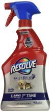 Resolve Pet Stain & Odor Carpet Cleaner, 22 oz (Pack of 3)