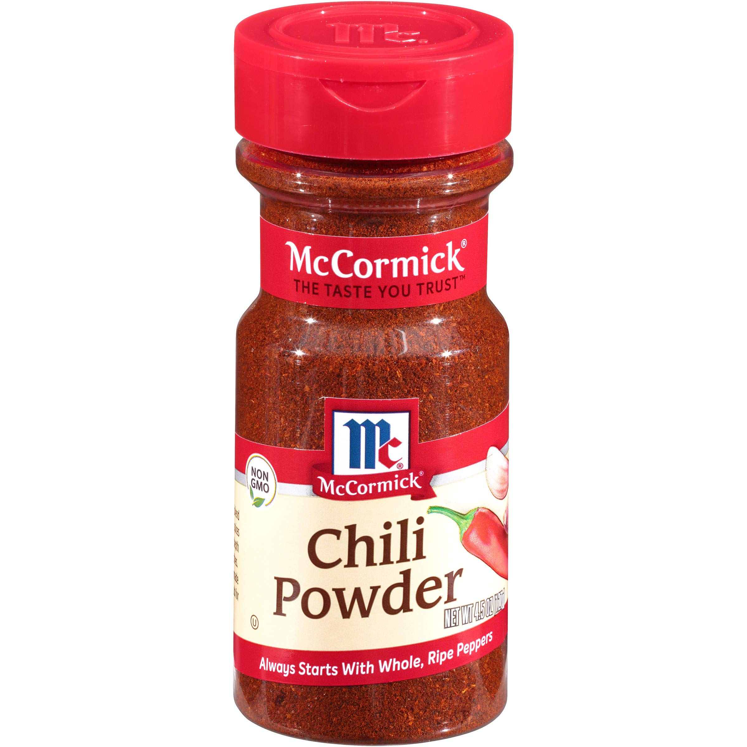 McCormick Chili Powder, 4.5 Ounce (Pack of 12)