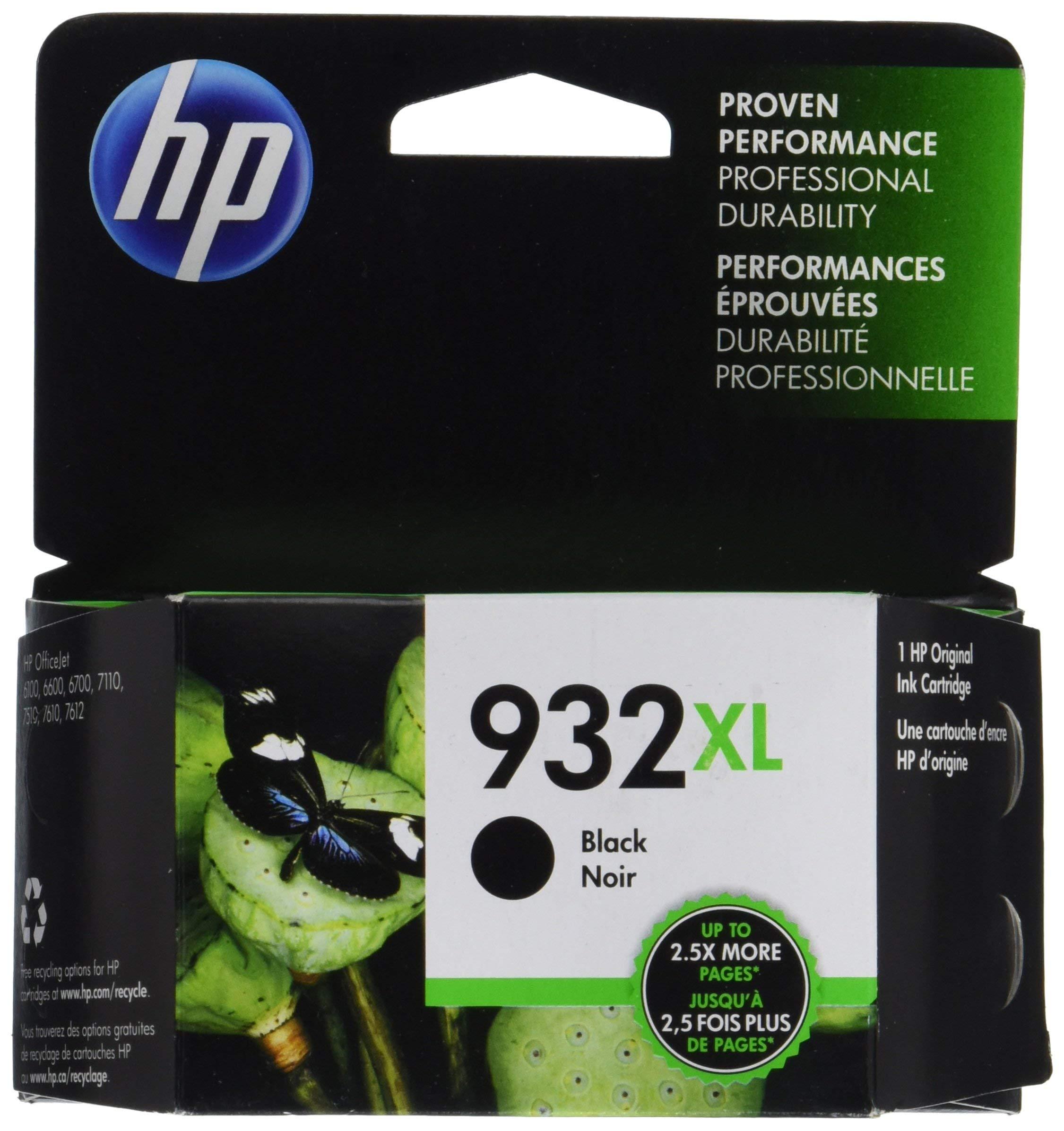 HP 932XL   Ink Cartridge   Black   CN053AN