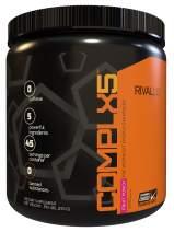 Rivalus Complx5 45 Serving Pre Workout Powder, Fruit Punch, 0.7 Pound