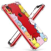 """Coralogo for iPhone XR TPU Case, 3D Cute Cartoon Funny Design Animal Character Protective Kawaii Fashion Fun Cool Stylish Bumper Cover Kits Skin Teens Kids Girls Boys Cases for iPhone XR 6.1"""" (Elf"""