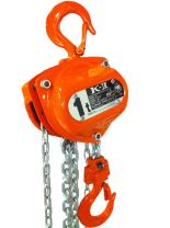 Elephant Lifting KIIOP-3.1 Hand Chain Hoist with Overload Protection, 3.1 ton Capacity, 20' Lift Height, Made in Japan