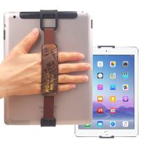 WiLLBee CLIPON 2 DUAL for Tablet PC 7~11 inch (Special Brown) Smart Finger Ring Hand Hold Strap Grip Case Band Holder - iPad Pro 10.5 9.7 Air mini 4 3 2 Galaxy Tab S3 S2 A E Pro Book 10.6 LG G Pad 4 3
