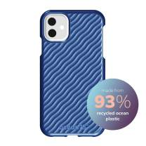 Ocean75 Eco-Friendly Designed for iPhone 11 Case, Ocean-Inspired Sustainable Phone Cover Made from Recycled Fishing Nets – Ocean Blue