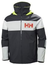 Helly-Hansen Men's Salt Flag Waterproof, Windproof, Breathable Sailing Marine Jacket
