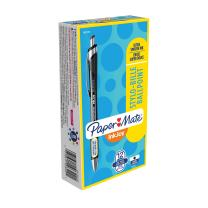Paper Mate InkJoy 550RT Retractable Ballpoint Pens, Fine Point, Black, Box of 12 (1951355)