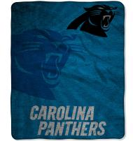 """Officially Licensed NFL """"Strobe"""" Sherpa on Sherpa Throw Blanket, Multi Color, 50"""" x 60"""""""