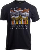 Great Smoky Mountains National Park   Smokie Poster Decal Art Men Women T-Shirt